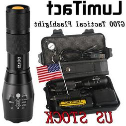 50000lm Genuine Lumitact G700 CREE LED Tactical Flashlight M