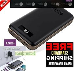 iMuto 30000mAh Portable Charger Taurus X6L 3-Port USB Output