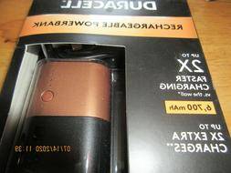 Duracell 6700 mAh, Fast Charge External Battery Pack for Sma