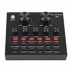 external mixing console sound card mixing console