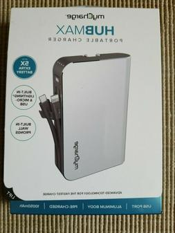 myCharge HUBMAX 10050mah Power Bank Portable Charger