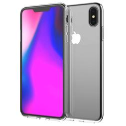 iPhone Xs Max Case, Lifeepro Soft TPU Bumper Ultra-Clear Sli