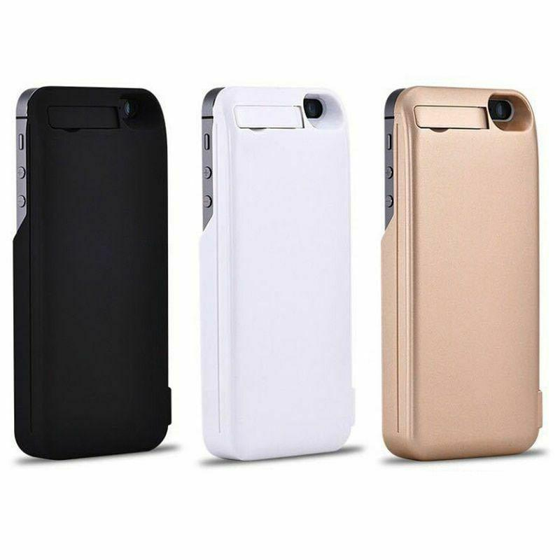 Battery Charger iPhone5 5S External Case Cover Portable
