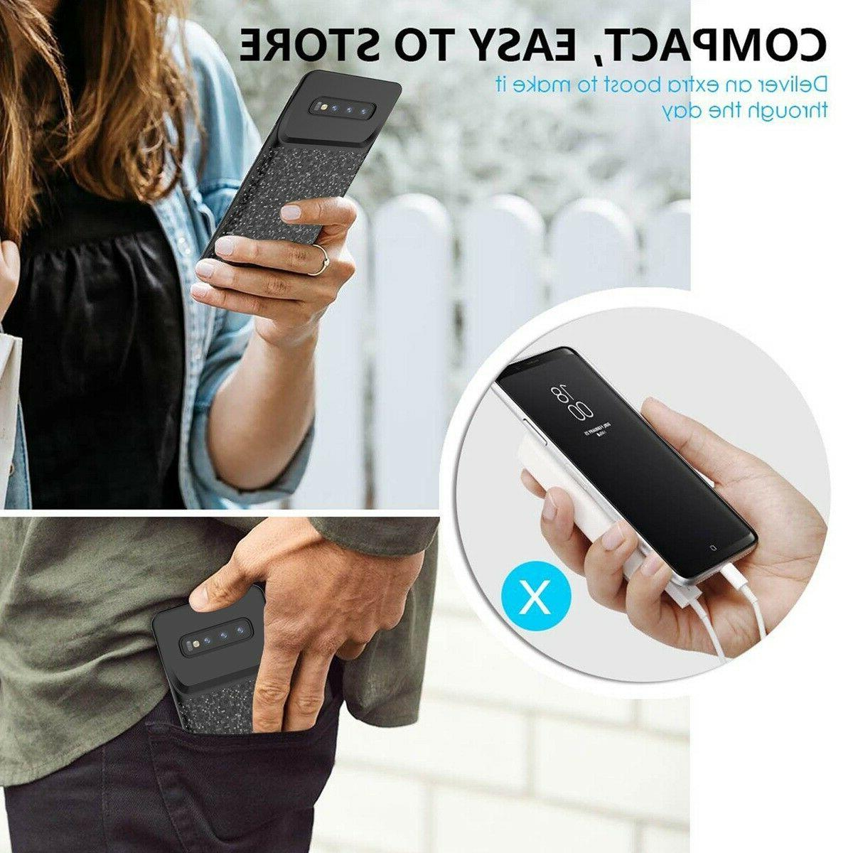 Battery Powerbank Case For Samsung Plus S8 S7