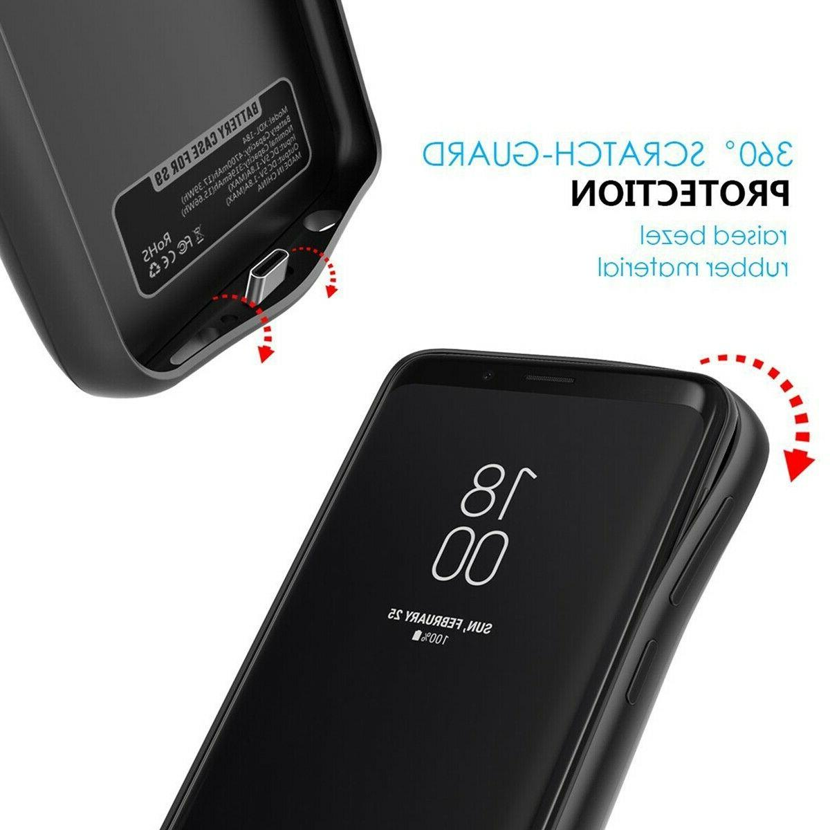 Battery Powerbank Case For Samsung Galaxy Plus Ultra S10 S9 S8 S7