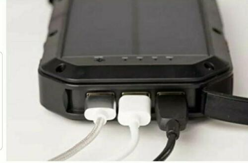 ***LOOK*** LIT PowerBank 20000 3 USB Cable Outputs NEW IN BOX