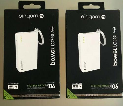 lot of 2 official power reserve powerbanks
