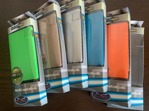 lot of 2 portable power banks ultra