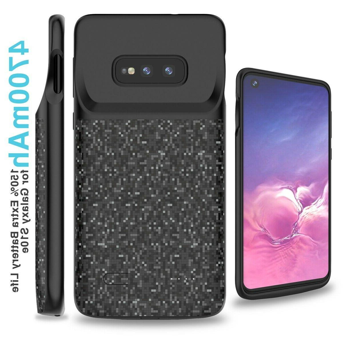 Magnetic Battery Powerbank Case Samsung S20 S10 S9 Note 10