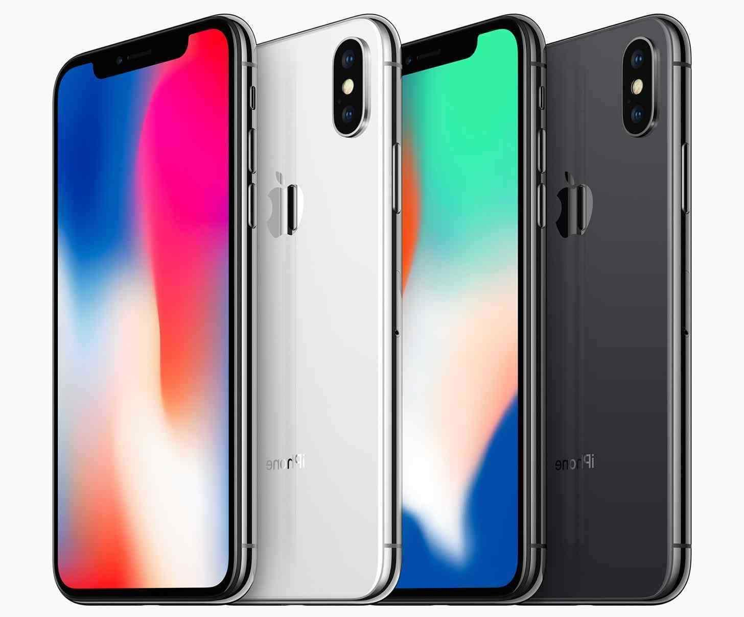 New iPhone X 64GB Silver Factory Unlocked T-Mobile AT&T