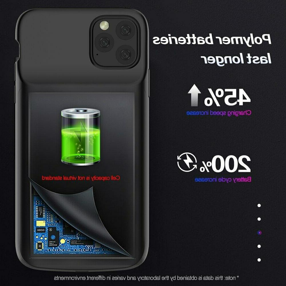 Soft Battery Case iPhone 11 Power Bank Case Charger Powerbank