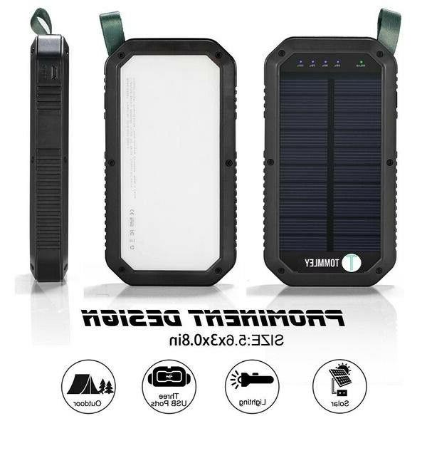 Tommley Solar Power Bank
