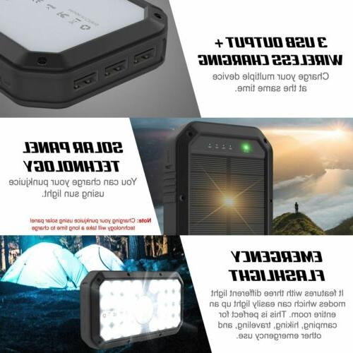 PunkCase Wireless 20000mah Battery for iPhone