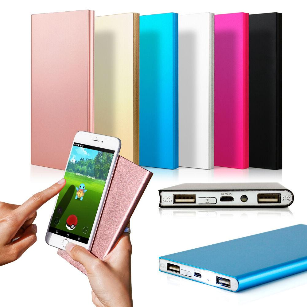 ultra thin 20000mah portable external battery charger