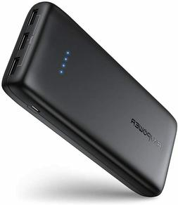 RAVPower Portable Charger 22000mAh External Battery Pack Pow