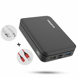 Power Bank 10000mAh Portable Charger with Dual High Speed Ch