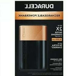 Duracell Powerbank 10050 mAh, Fast Charge External Battery P