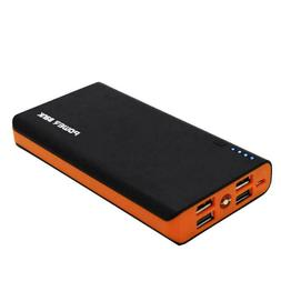 POWERBANK 4 USB 900000mAh Power Bank LED External Backup Bat