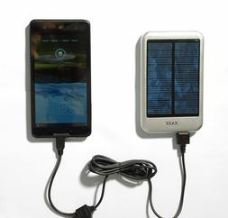 ZAZZ Solar Powerbank 6000mAh Portable Charger External Batte