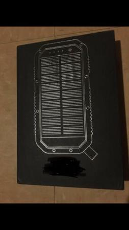 LIT MOBILE SOLAR POWERBANK CHARGER BRAND NEW