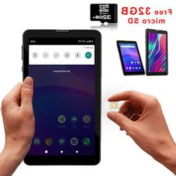 """Tablet PC + 4G Phone  7"""" HD Android 9.0 - Free 32gb microSD"""
