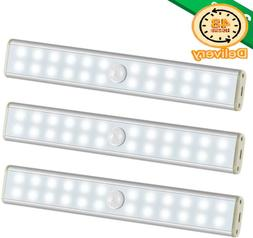 Under Cabinet Lighting-New Wireless 24 Led Light 3 Packs Wit