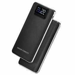 US Portable Slim 50000mAh 2 USB LCD Powerbank LED Battery Ch