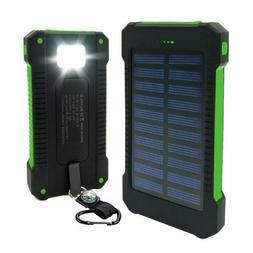 waterproof emergency portable cellphone solar charger powerb