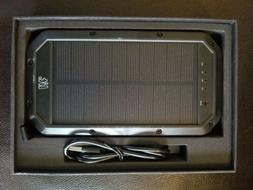 LIT Wireless Solar PowerBank 20000 mAh 3 USB Cable Outputs N
